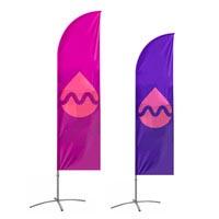 Bandiere piuma
