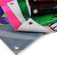 Striscioni in PVC con finitura personalizzata