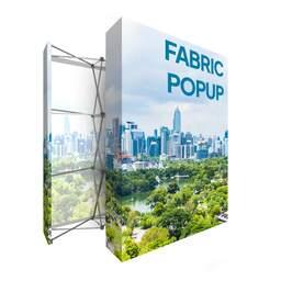Espositore tessuto richiudibile Fabric PopUp fiera | multigrafica.net