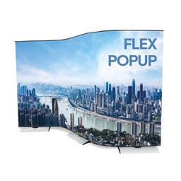Espositore fiera banner flessibile Flex PopUp| multigrafica.net