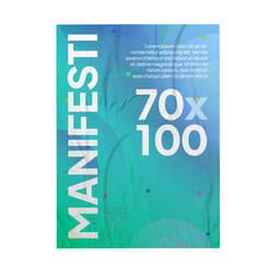 Stampa Manifesti 70x100 per affissione personalizzati