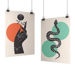 Stampa poster da interno personalizzati