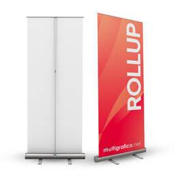 rollup espositore avvolgibile porta banner economico | multigrafica.net