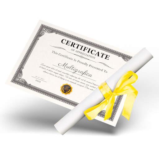 Stampa Attestati e Diplomi