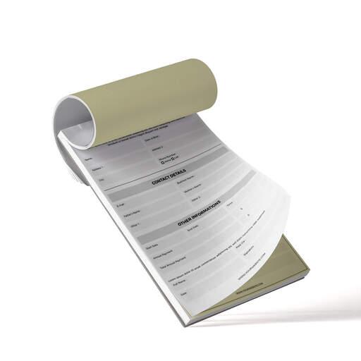 Blocchi carta chimica copiativa