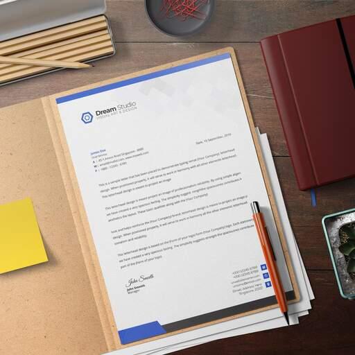 Dettaglio Carta Intestata Personalizzata