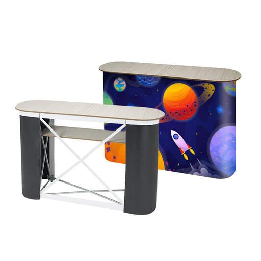 Eco Table Rounded Desk Promozionale personalizzato | multigrafica.net
