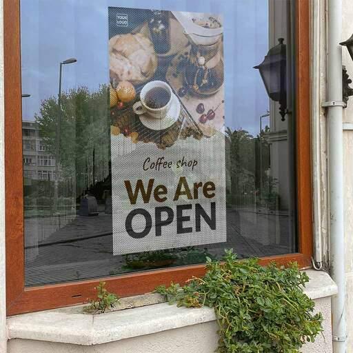 Stampa Adesivi Oneway per vetrine | multigrafica.net