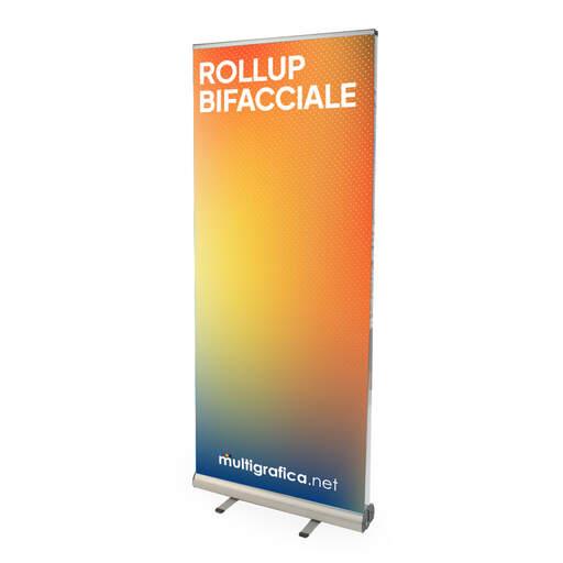 rollup espositore avvolgibile bifacciale | multigrafica.net