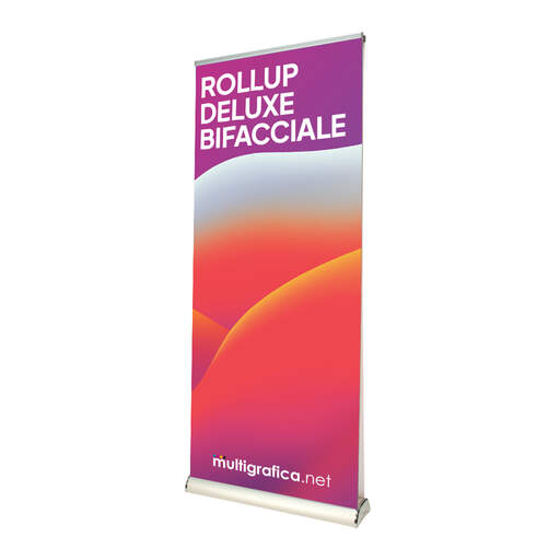 Roll Up Deluxe espositore bifacciale | multigrafica.net