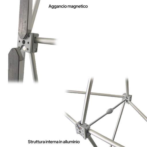 Espositore fieristico parete Magnetic PopUp