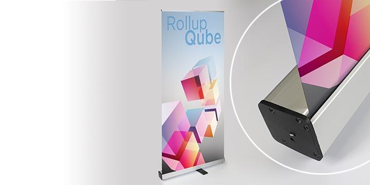 Rollup Qube - espositore avvolgibile