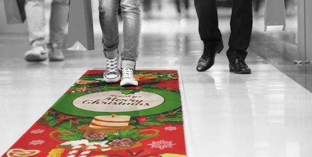 pvc adesivi per passatoie natalizie