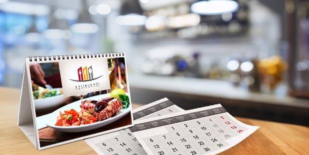stampa calendari da scrivania