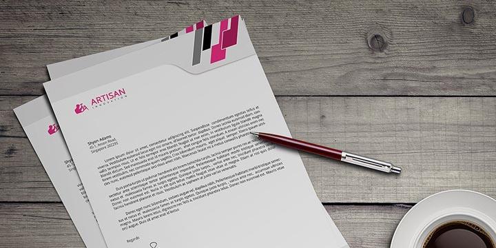 stampa carta per corrispondenza personalizzata