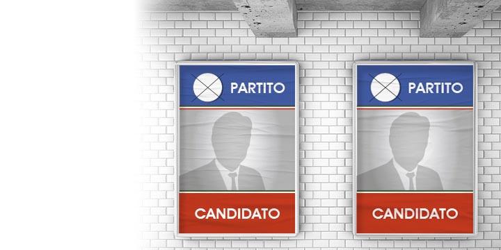 manifesti 70x100 elettorali
