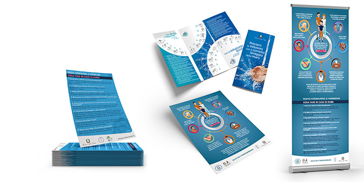 materiale informativo coronavirus