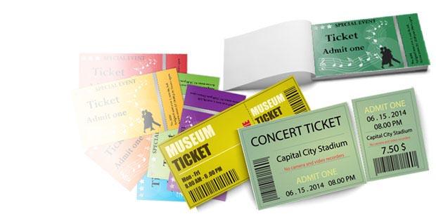Stampa biglietti numerati matrice ingresso