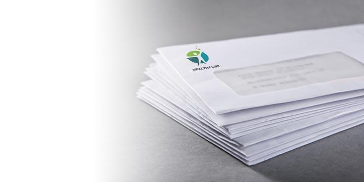 stampa buste da lettera intestate personalizzate online