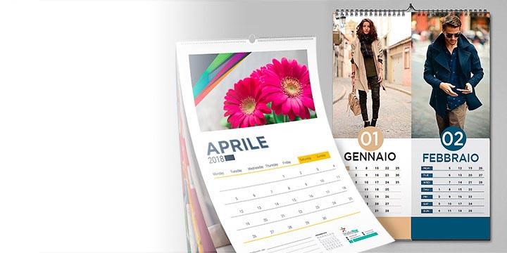 stampa calendari personalizzati da parete